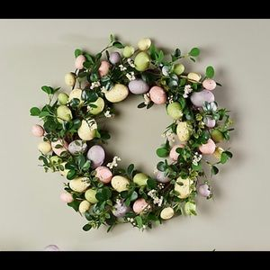 """Other - 22"""" Easter Egg and Boxwood Wreath"""